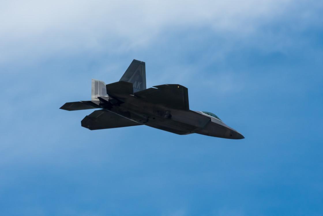 """""""F-22 Raptor"""" stock image"""