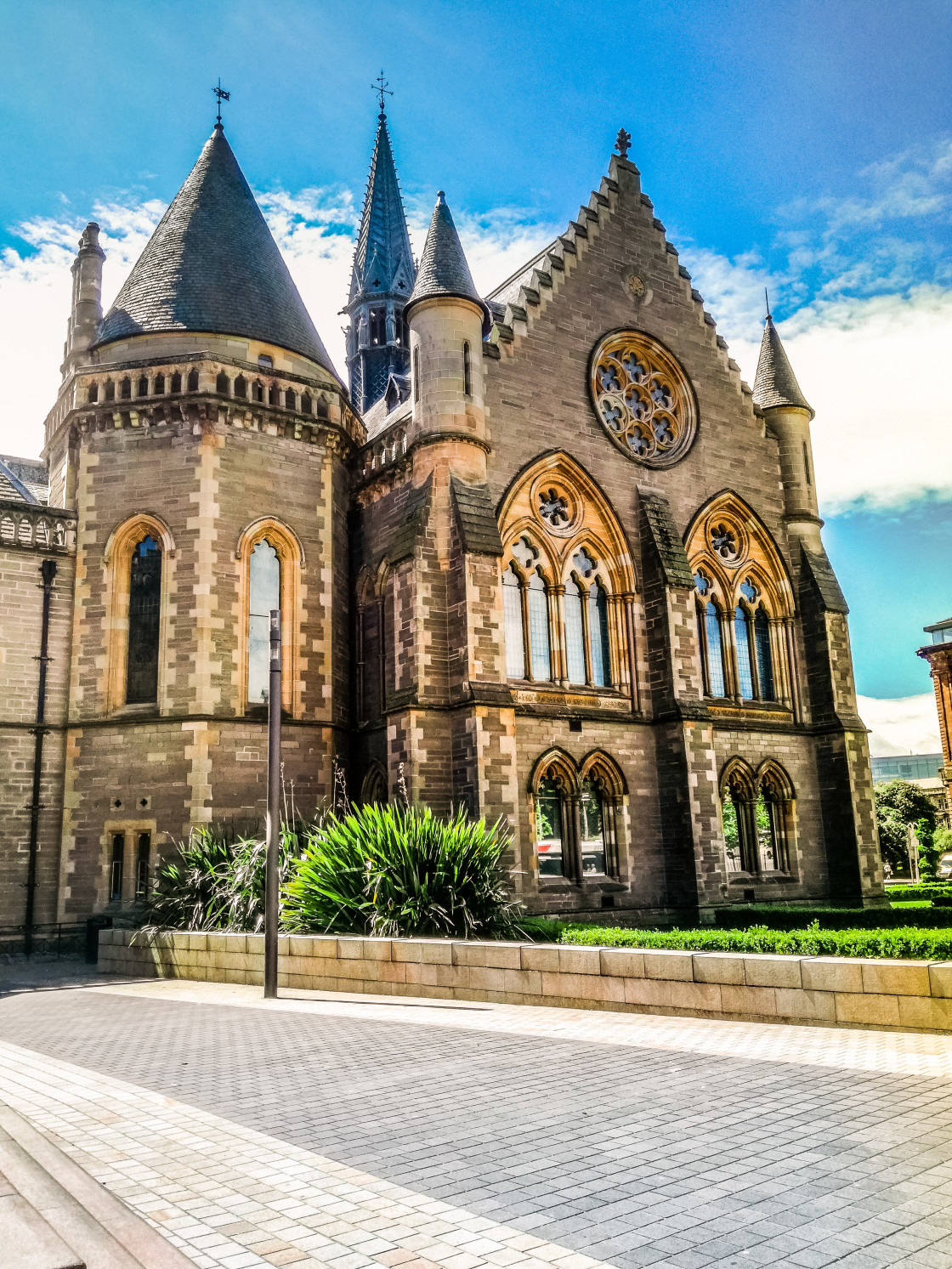 """""""Dundee buildings"""" stock image"""