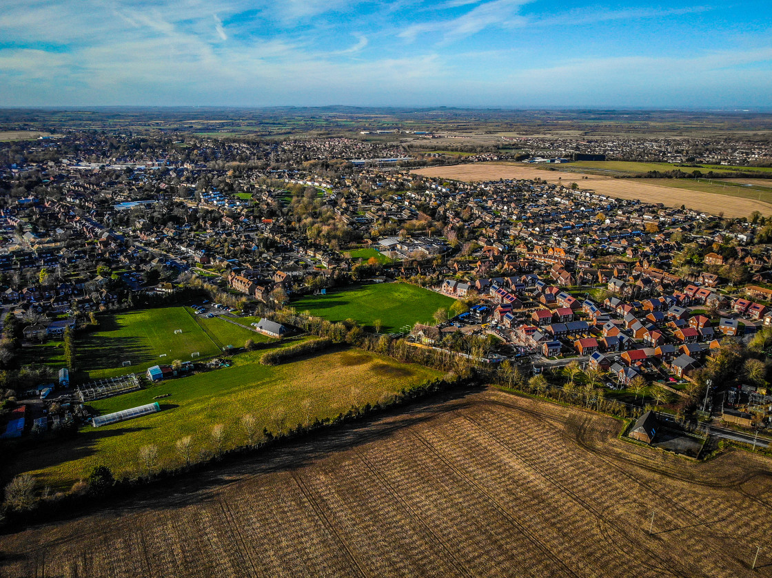 """Eastern Wantage"" stock image"
