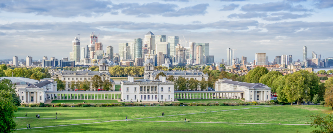 """The Royal Museum, Greenwich, London"" stock image"
