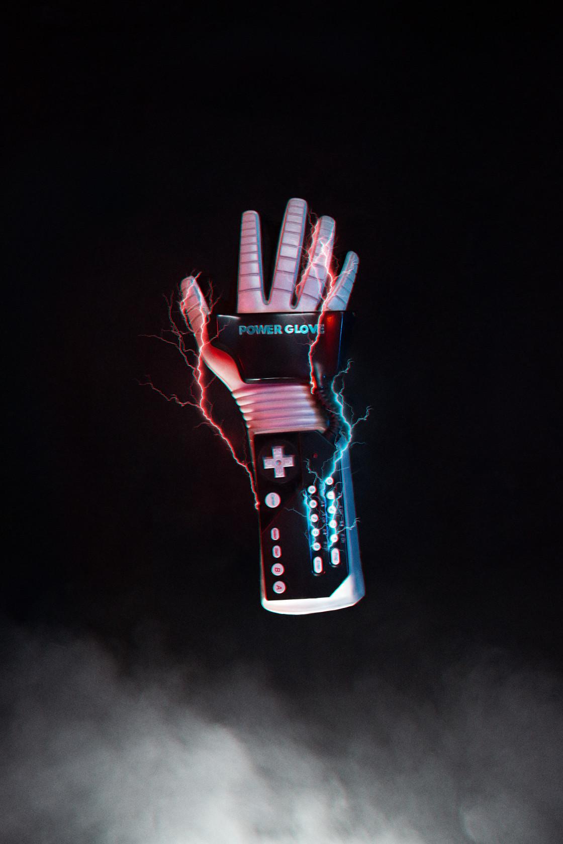 """Power Glove"" stock image"