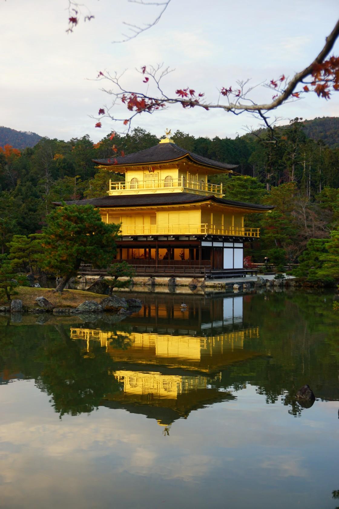 """Golden pavilion"" stock image"