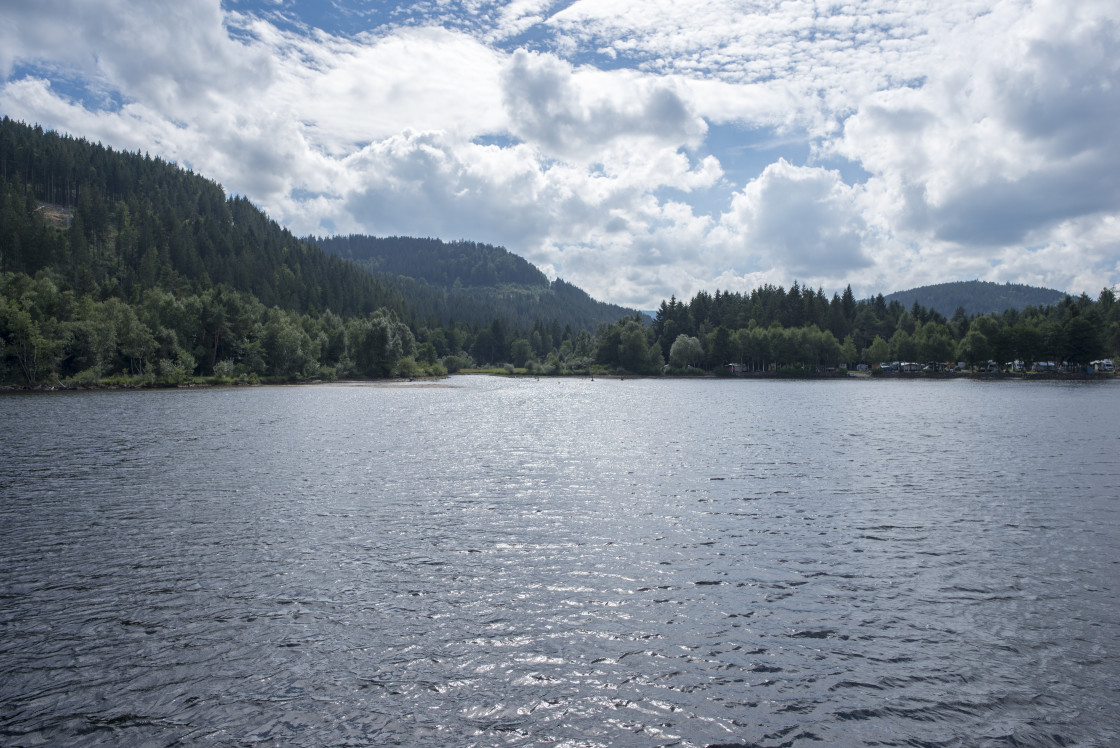 """On Lake Titisee in the Black Forest, Germany"" stock image"