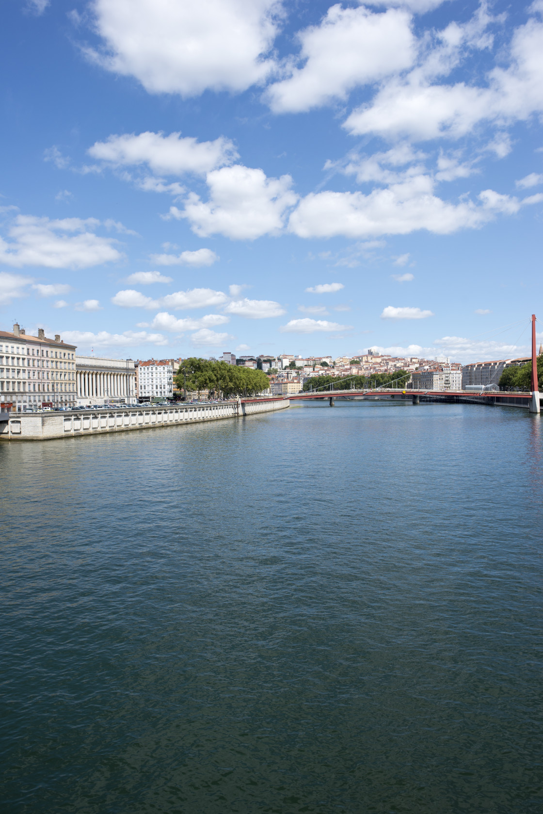 """""""The beautiful city of Lyon in France"""" stock image"""