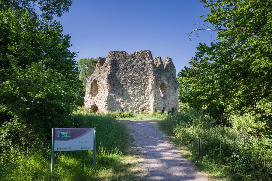 """Odiham Castle"" stock image"
