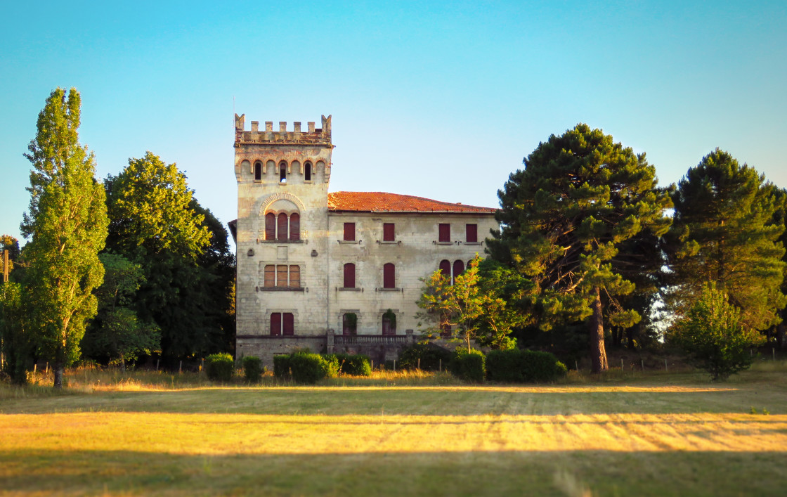 """""""Quenza castle"""" stock image"""