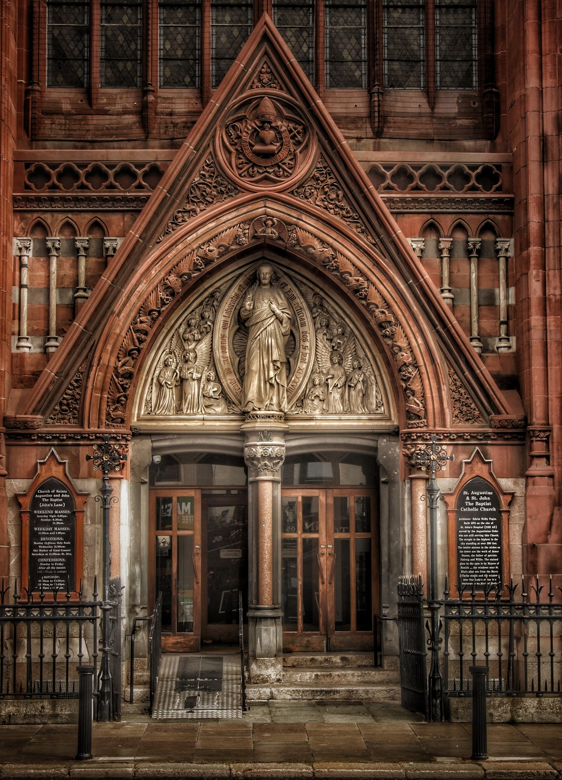 """Saint John's Church"" stock image"