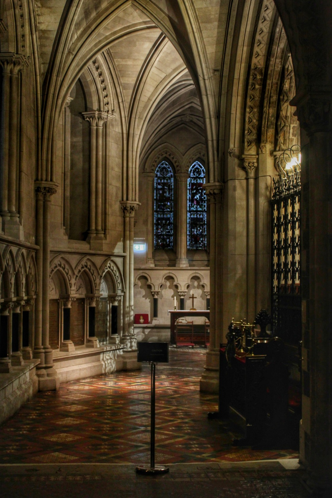 """""""Christchurch Cathedral"""" stock image"""