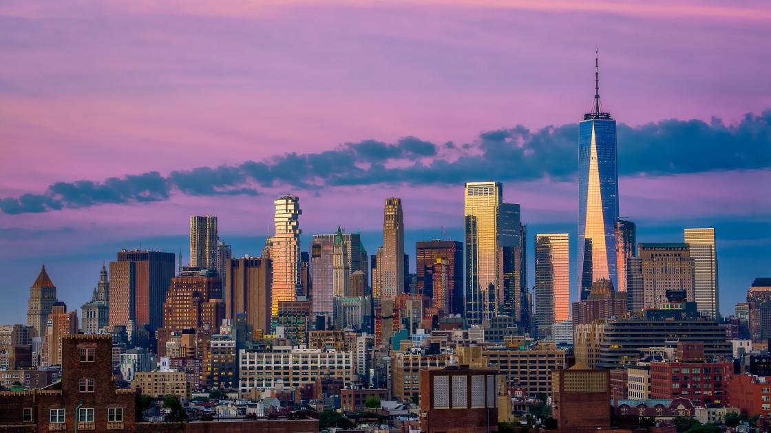 """New York City Morning"" stock image"