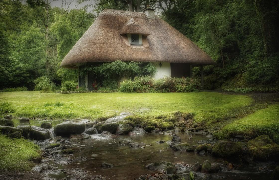 """Swiss Cottage"" stock image"