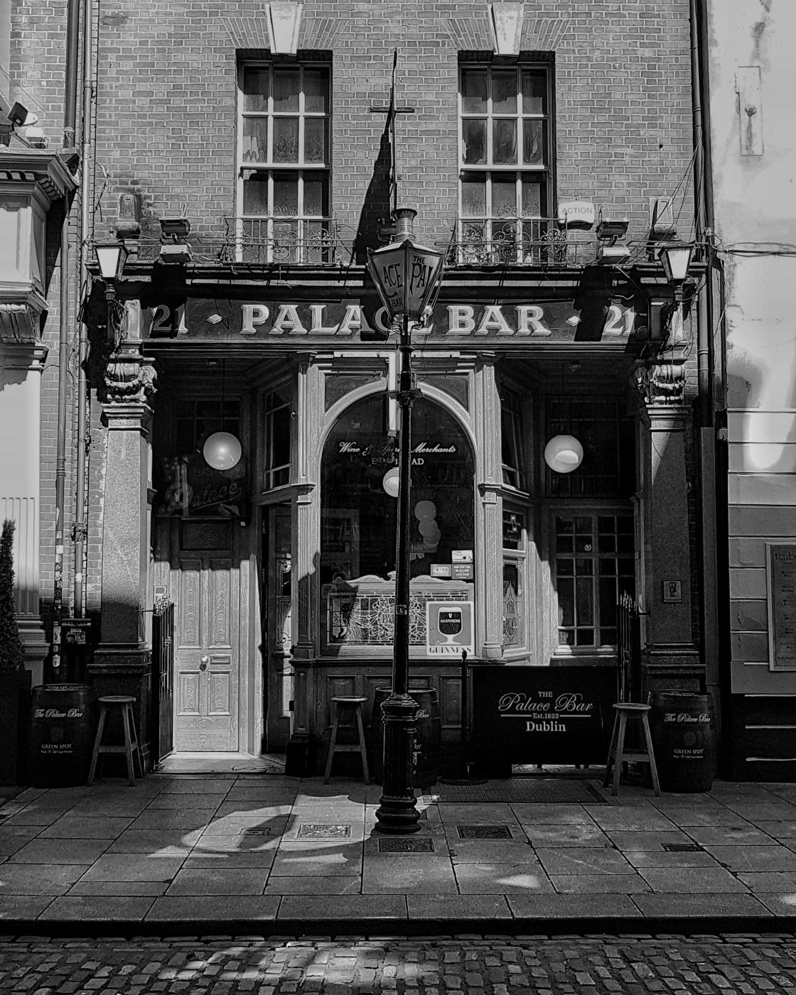 """Palace Bar Dublin"" stock image"