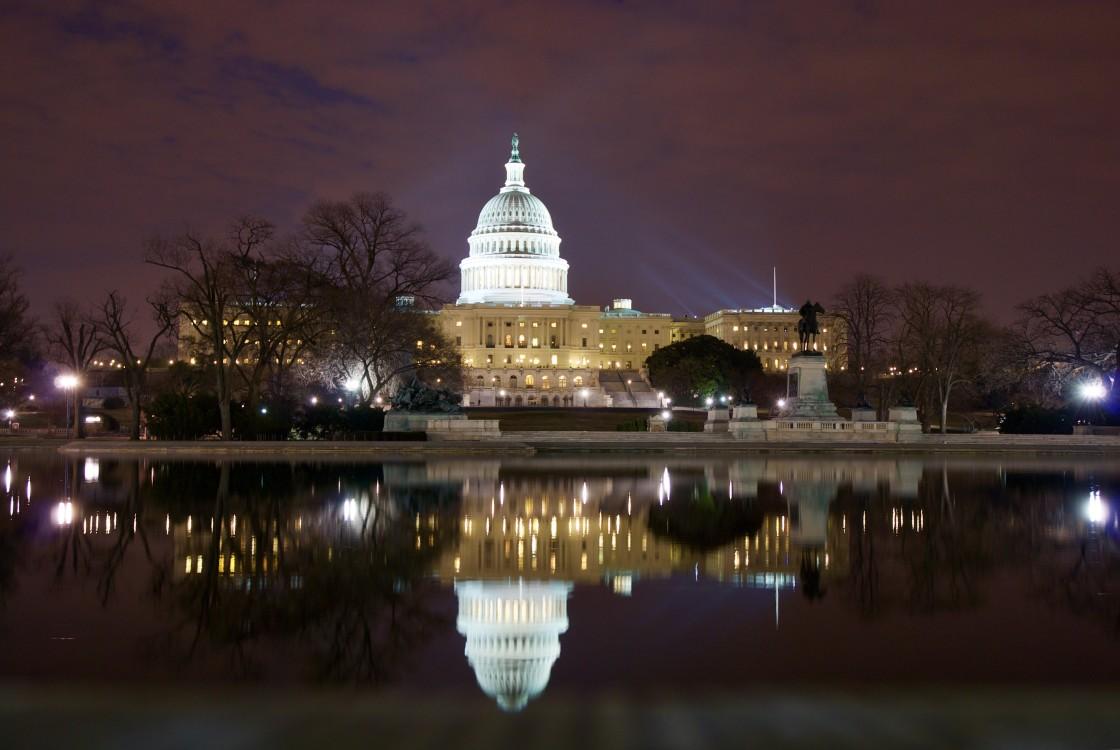 """U.S. Capitol in Washington DC"" stock image"