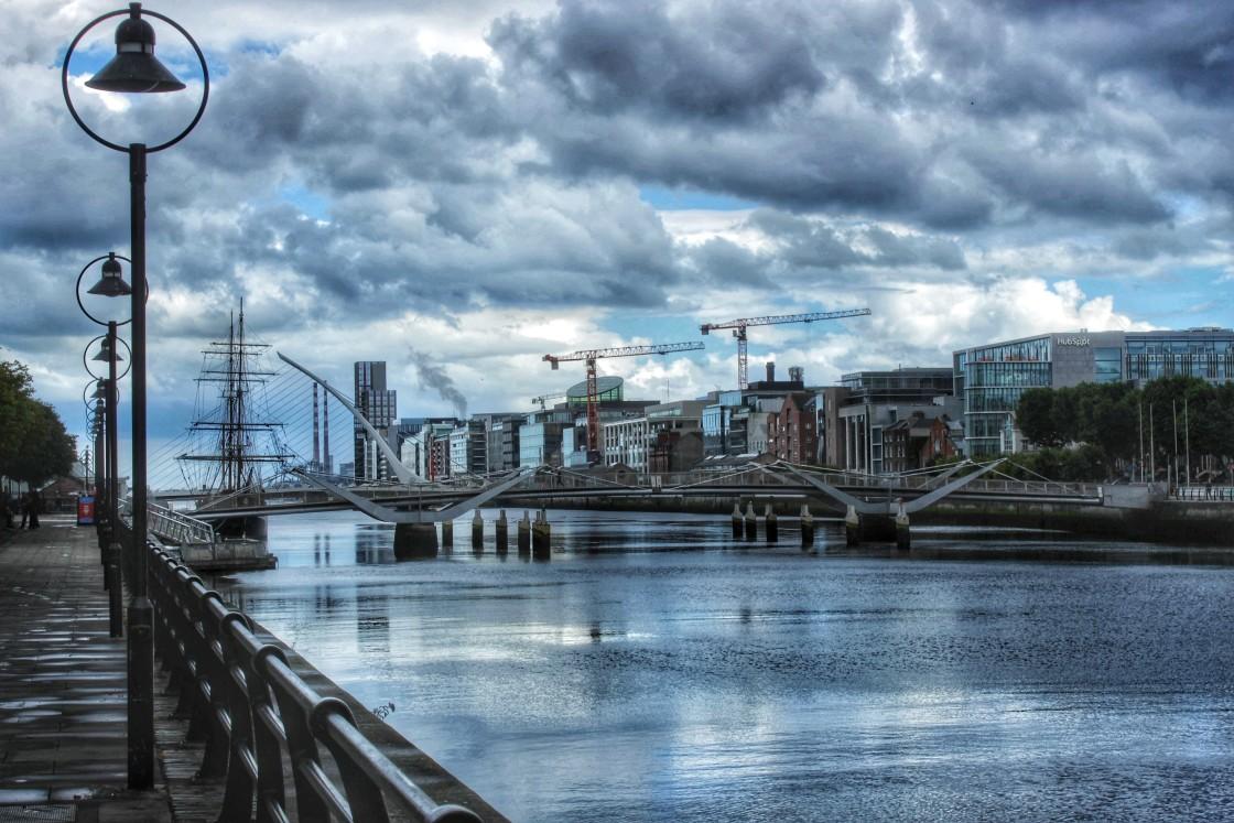 """""""Dublin Port"""" stock image"""