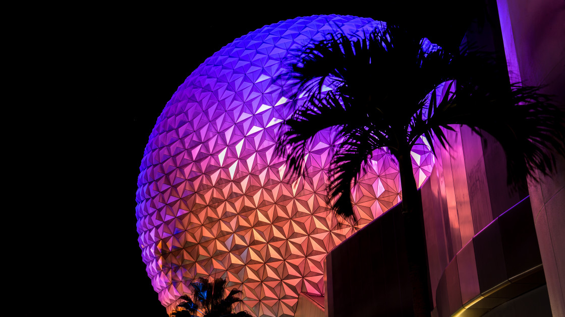 """Spaceship Earth"" stock image"