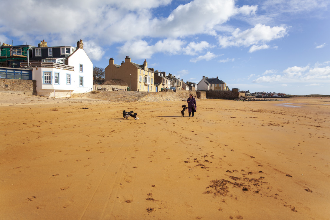 """Elie, Fife,Scotland"" stock image"