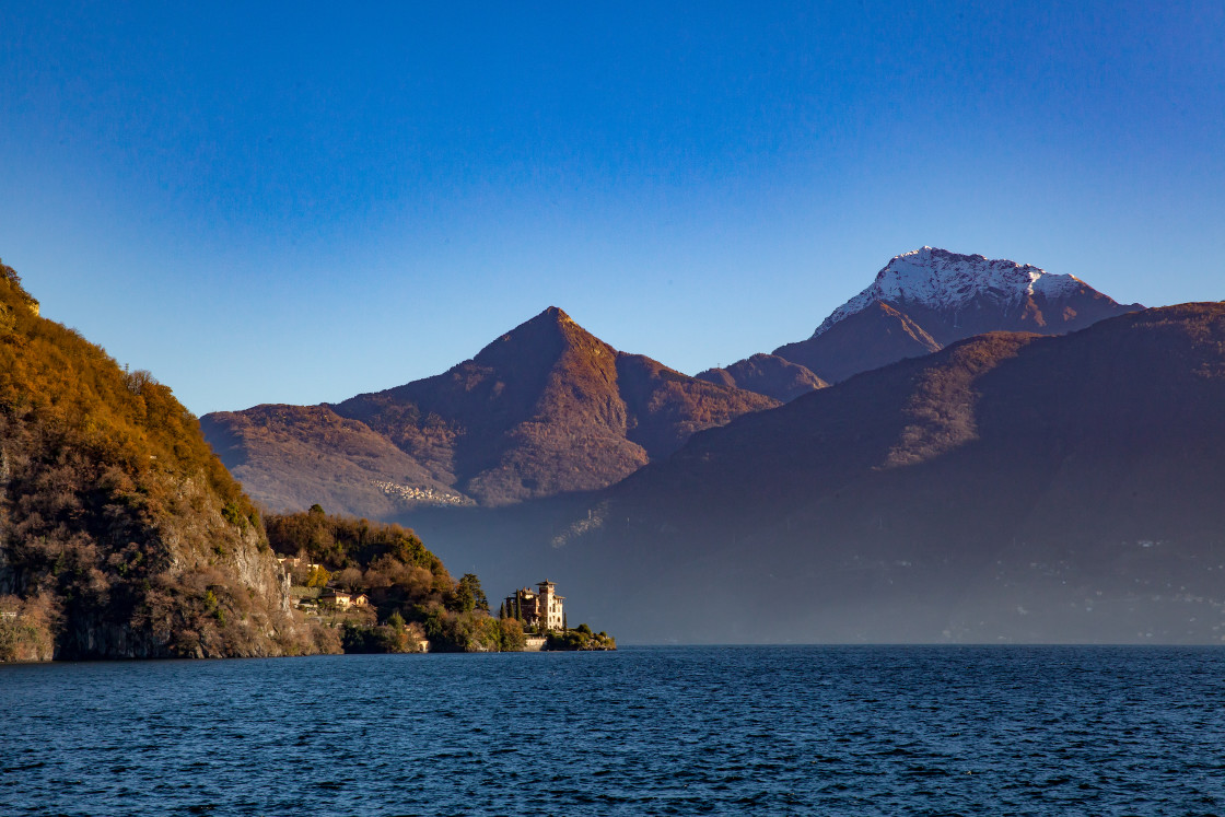"""Lake Como, Lombardy, Italy"" stock image"