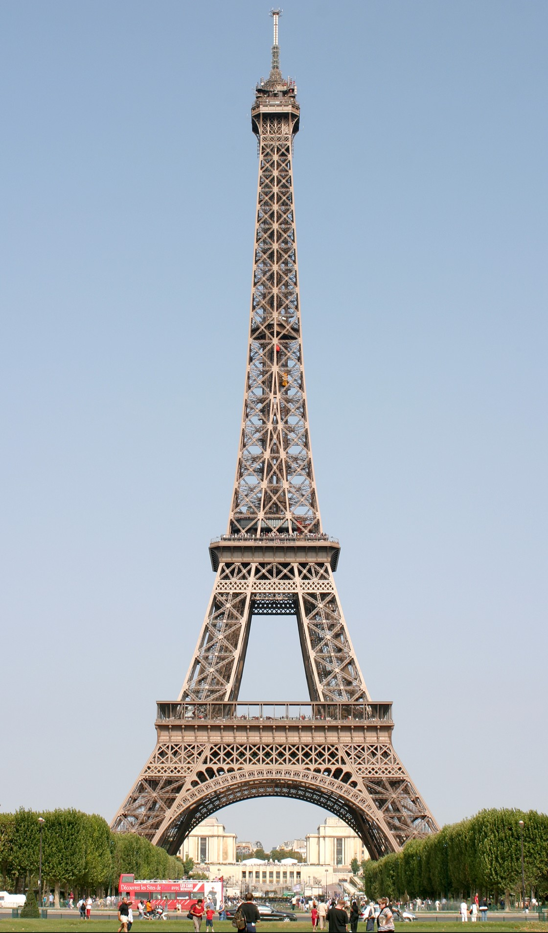 """The Eiffel Tower, Paris, France"" stock image"