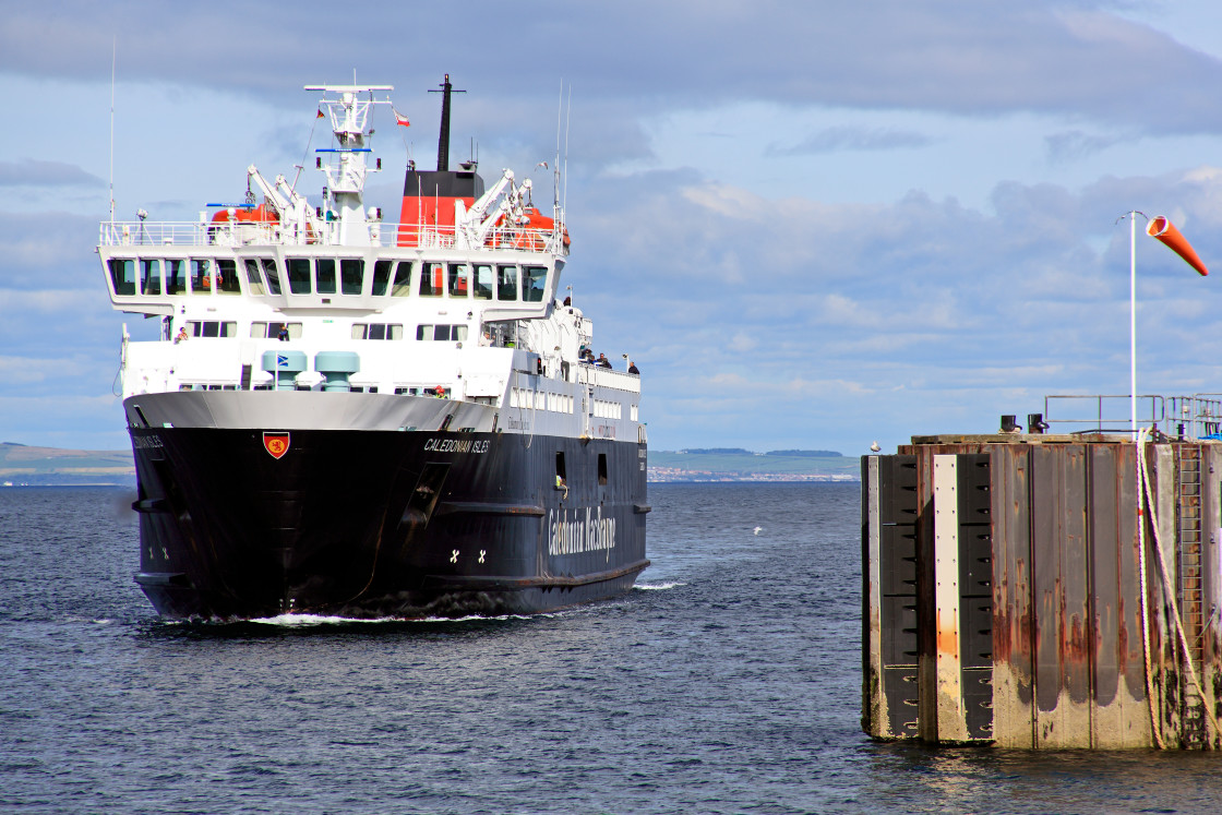 """Mainland to Isle of Arran Ferry, Scotland"" stock image"