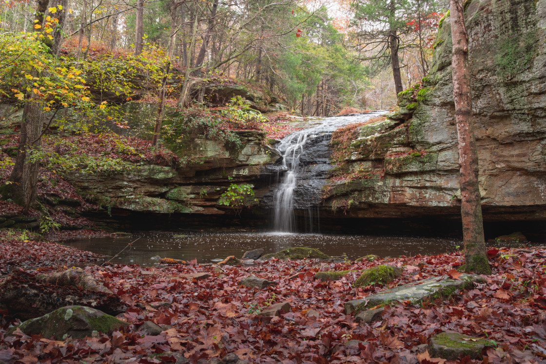 """Fall 2020 at Indian Falls"" stock image"