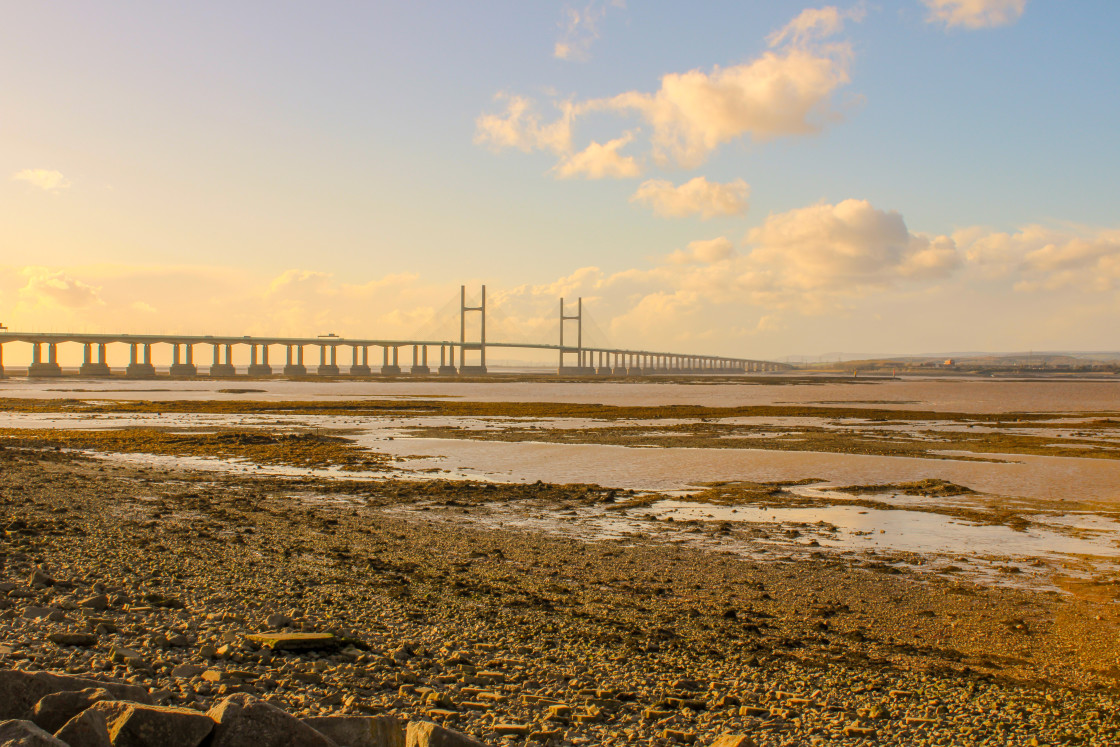 """Severn Bridge Crossing"" stock image"
