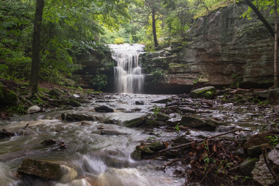 """Creekside at Indian Falls"" stock image"