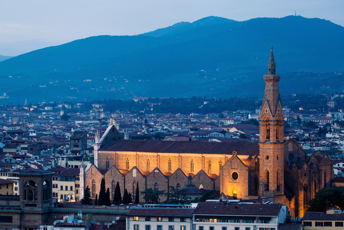 """Santa Croce"" stock image"