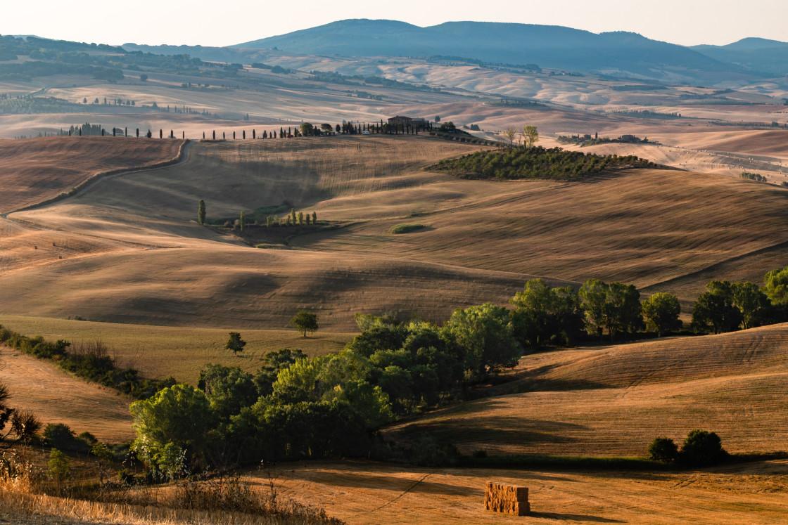 """""""Tuscan Sunrise"""" stock image"""