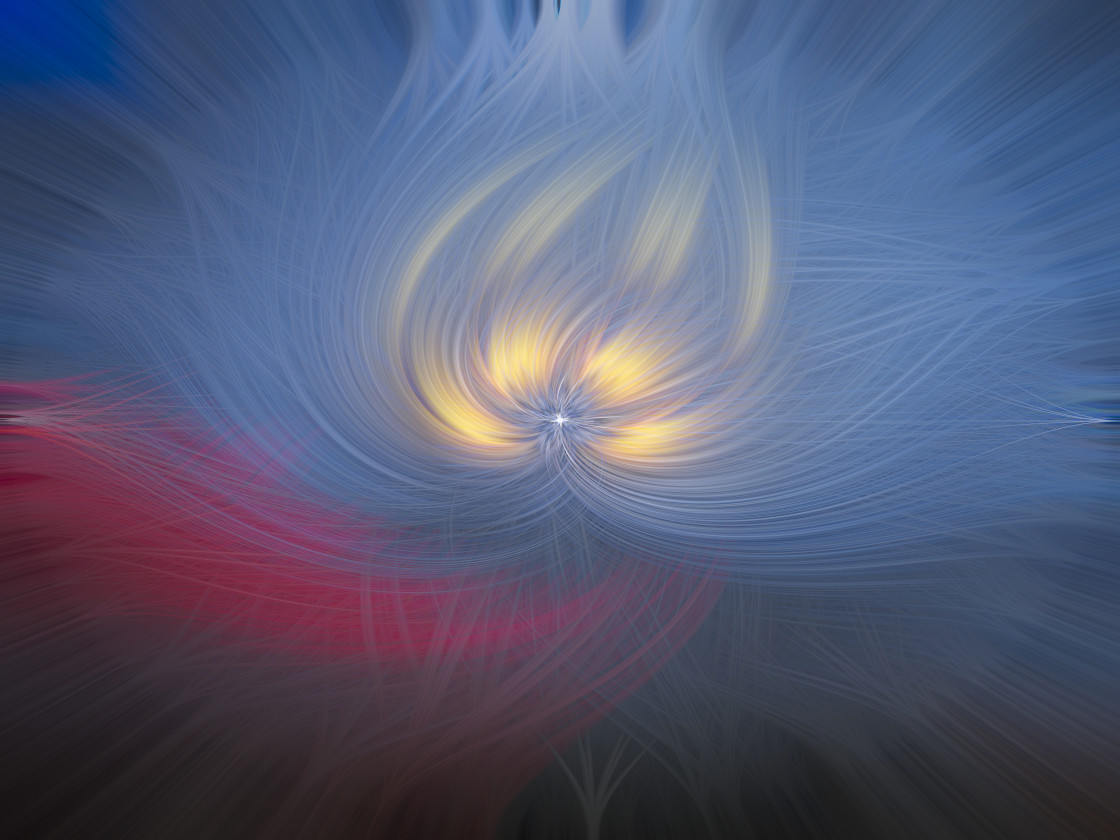 """""""Abstract twirl effect"""" stock image"""