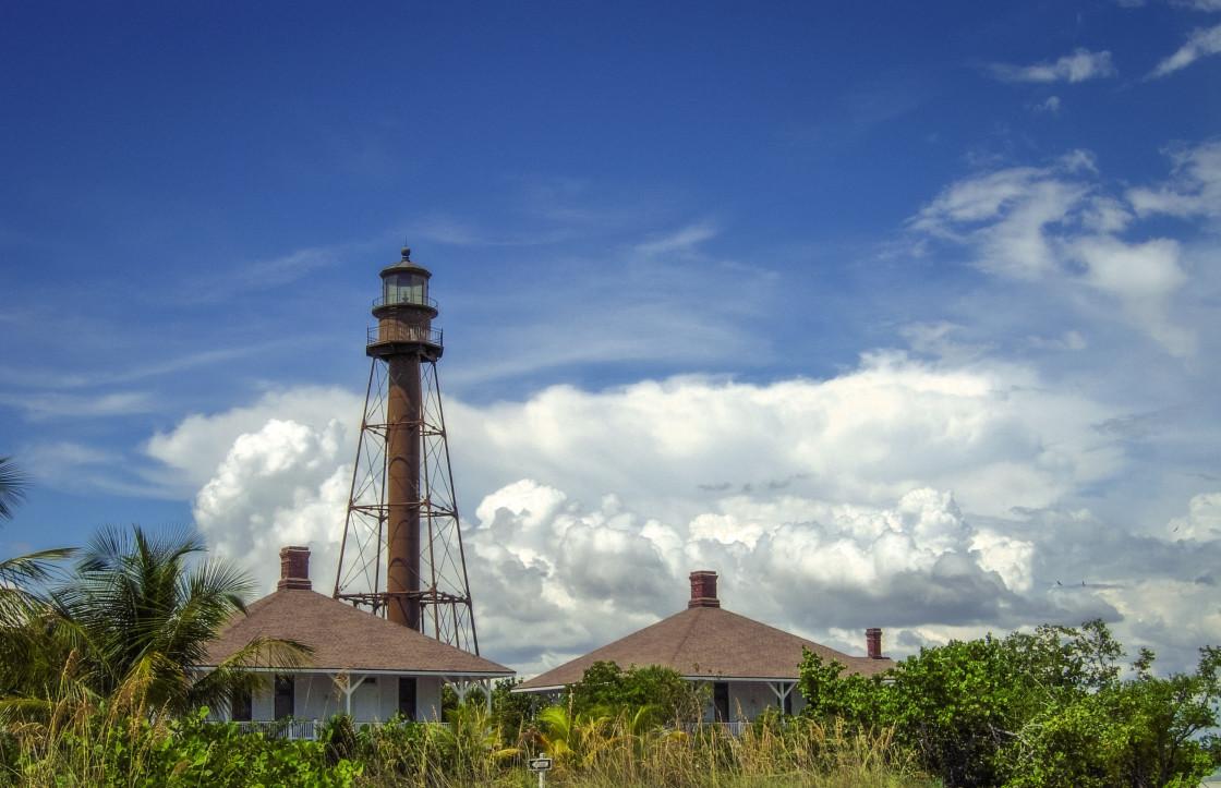 """Sanibel Lighthouse"" stock image"