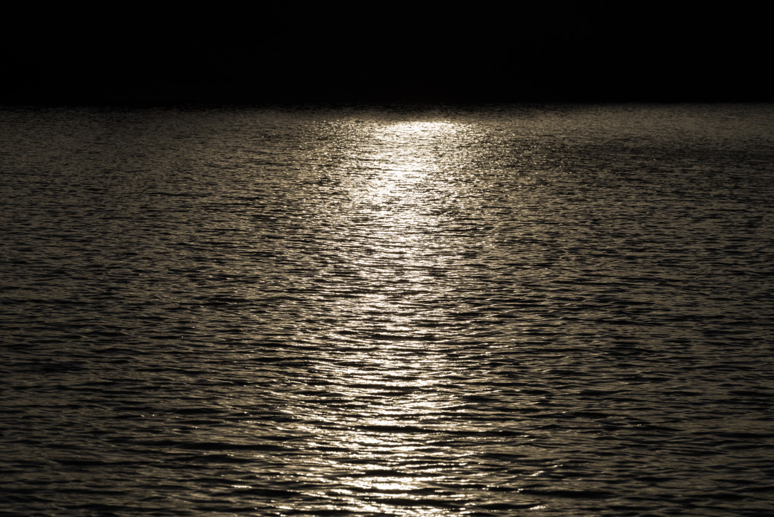"""""""Abstract Sun Reflection on Water"""" stock image"""