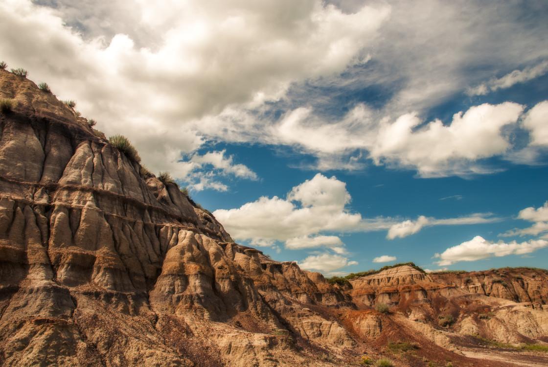 """""""Horseshoe Canyon"""" stock image"""