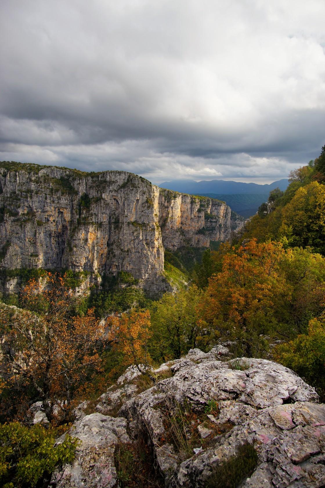 """""""Vikos Gorge"""" stock image"""