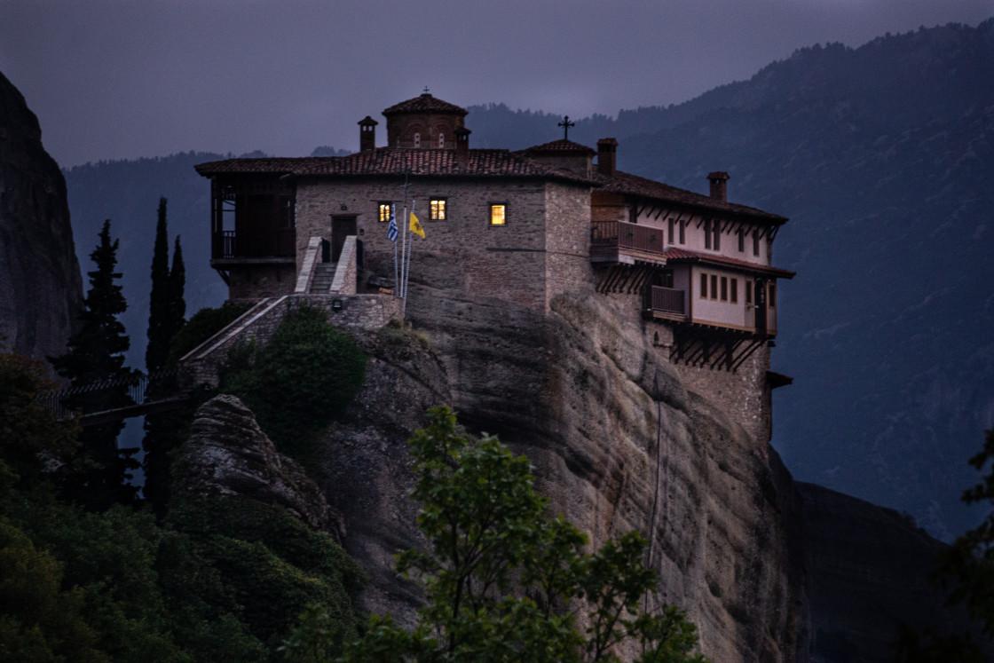 """Meteora Monastery"" stock image"