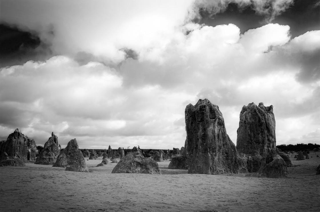 """""""Pinnacles Skyline"""" stock image"""