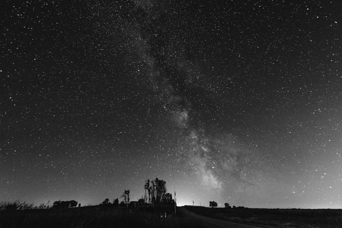 """""""Night sky 2"""" stock image"""