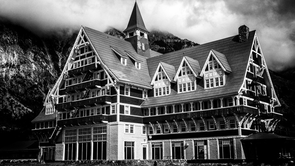"""""""Prince of Wales Hotel"""" stock image"""