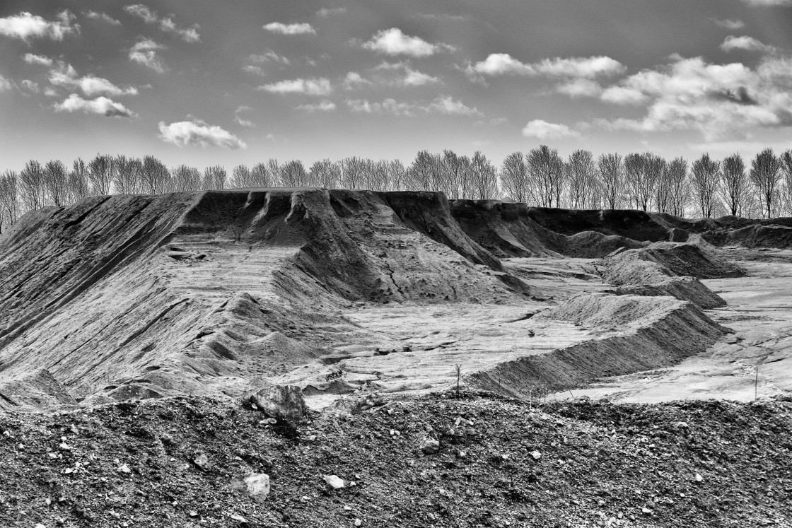 """""""Abandoned Quarry Moonscape"""" stock image"""