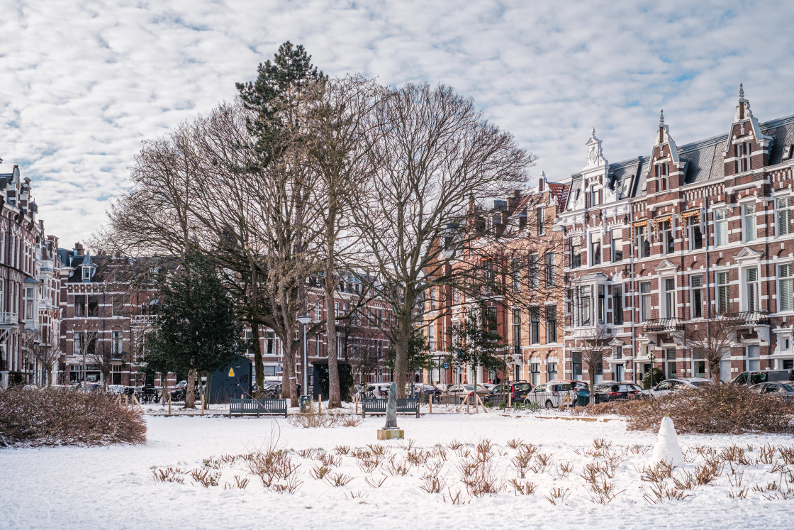 """""""The Hague in Winter"""" stock image"""