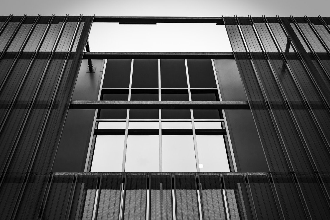 """""""Window and lines"""" stock image"""