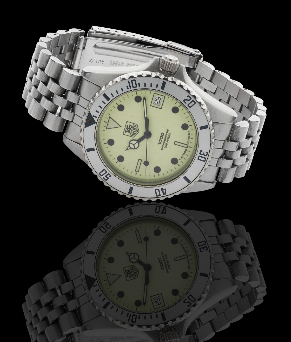 """""""Tag Heuer 1000 watch"""" stock image"""