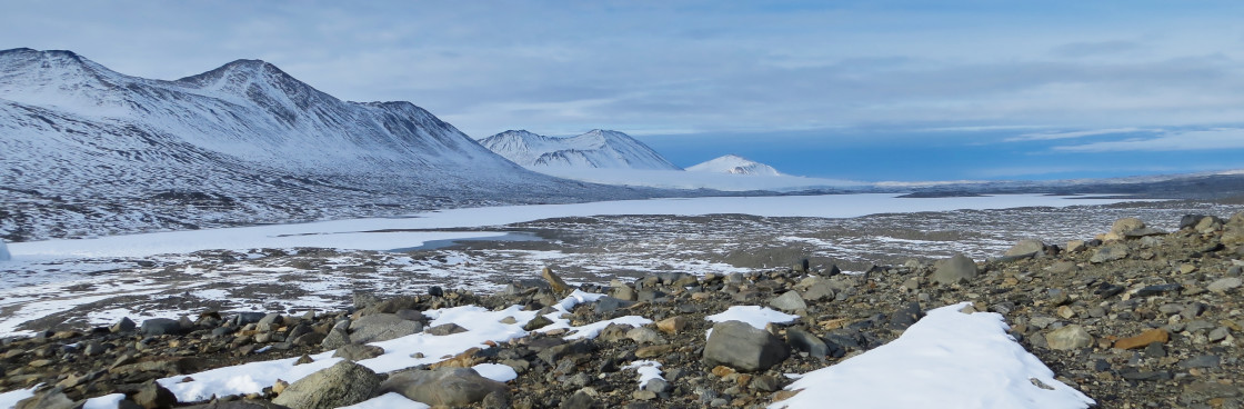 """""""Taylor Dry Valley McMurdo Sound"""" stock image"""