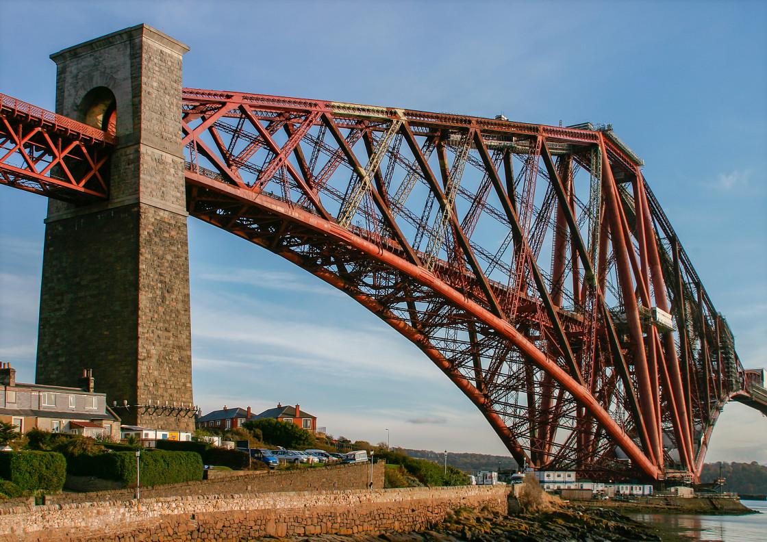 """Forth Railway Bridge, Scotland"" stock image"