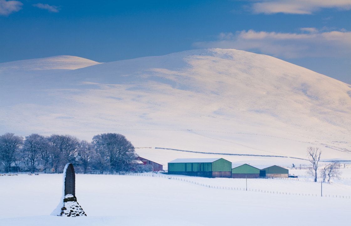 """""""Scotland, South Lanarkshire, Clyde Valley."""" stock image"""