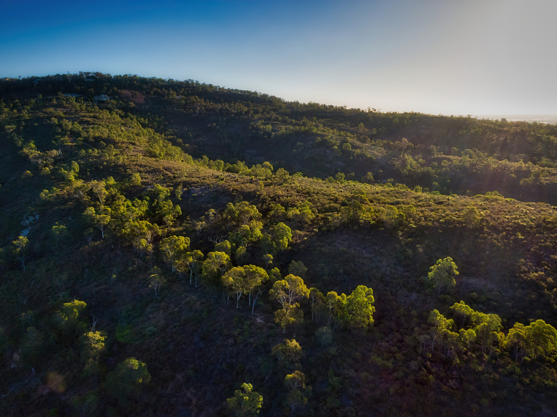 """Bushland Ridge, Perth Hills"" stock image"