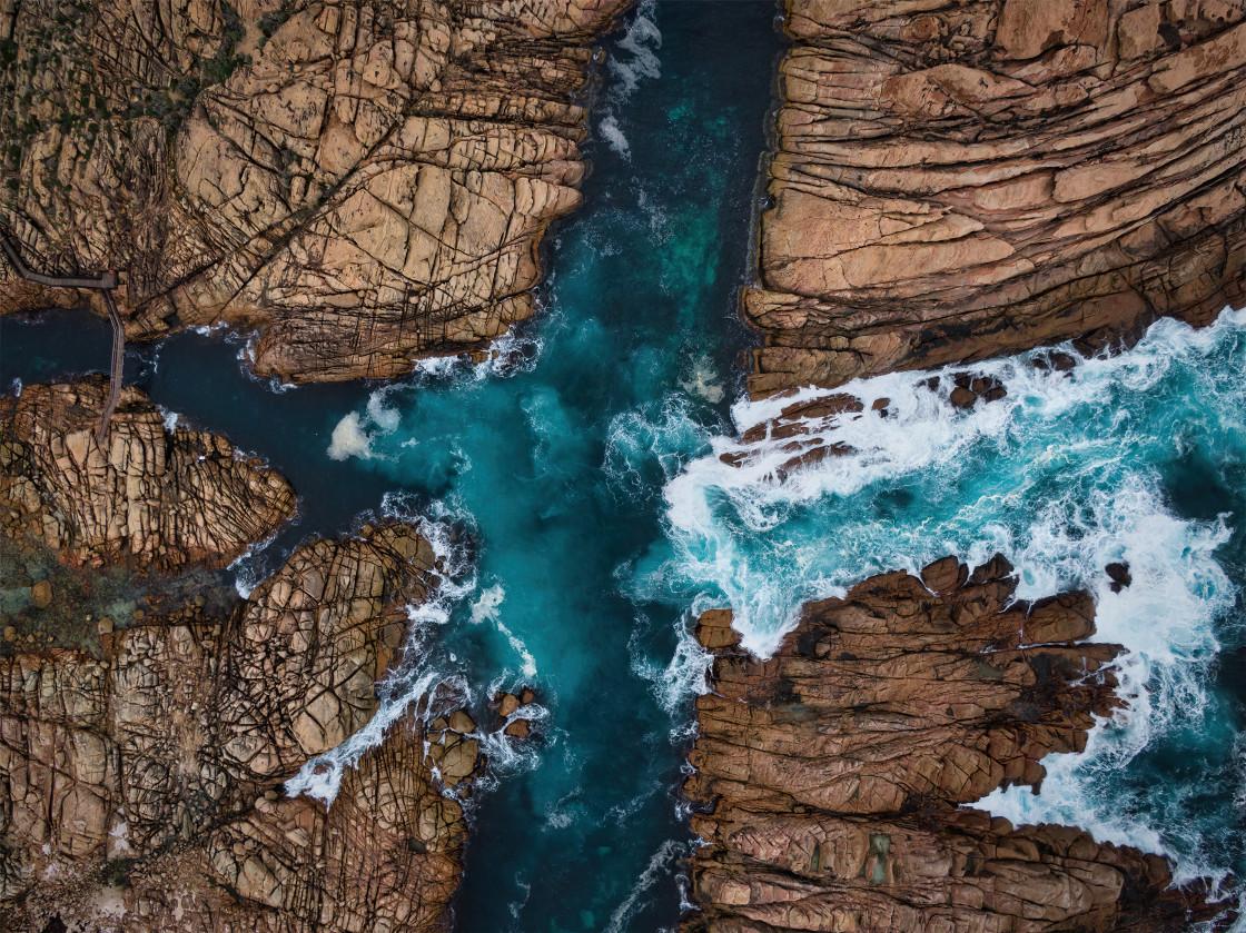 """""""Canal Rocks at Walyup 2"""" stock image"""