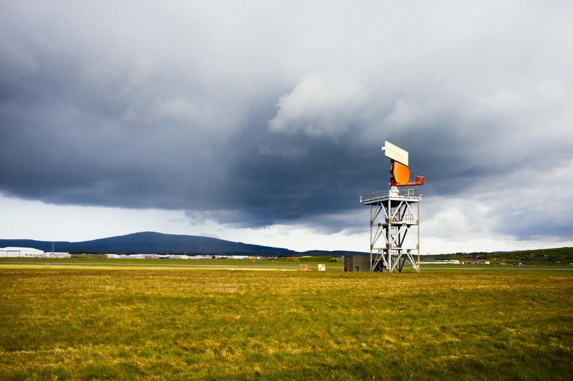 """Radar installation"" stock image"
