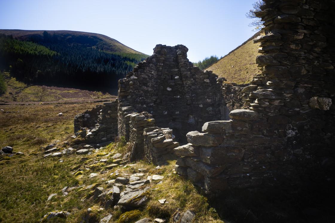 """Glen Dhoo, Ballaugh, Isle of Man"" stock image"