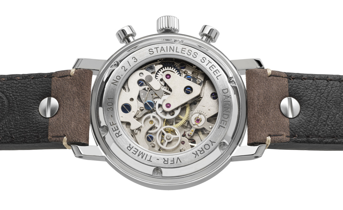 """""""Günter Dähndel VFR timer chronograph"""" stock image"""