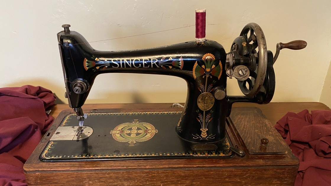 """Singer Sewing Machine - May 2021"" stock image"