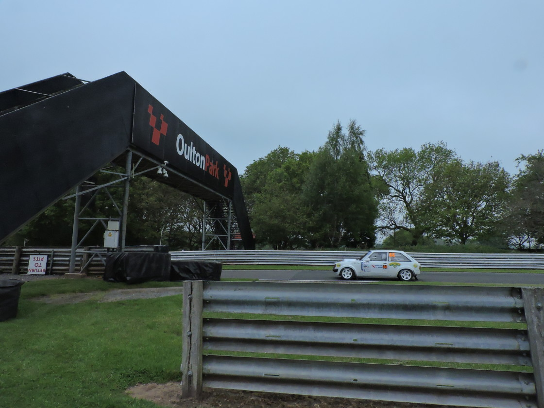"""""""Oulton Park Racing Circuit - May 31st 2021"""" stock image"""